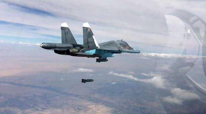 Pesawat Rusia SU-34 Fighter Jet (Kemhan Rusia/RT)