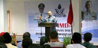 Foto: Wakil Walikota Medan Ir. H. Akhyar Nasution, MSi menghadiri Rapat Pimpinan Daerah (Rapimda) I Pemuda Muhammadiyah Kota Medan di Hotel Citra Garden, Sabtu (14/10).