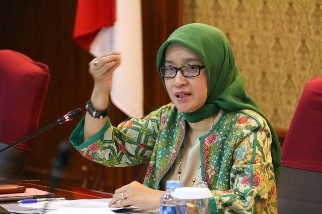 Foto: Deputi Bidang Kelembagaan dan Tata Laksana Kementerian PANRB Rini Widyantini.