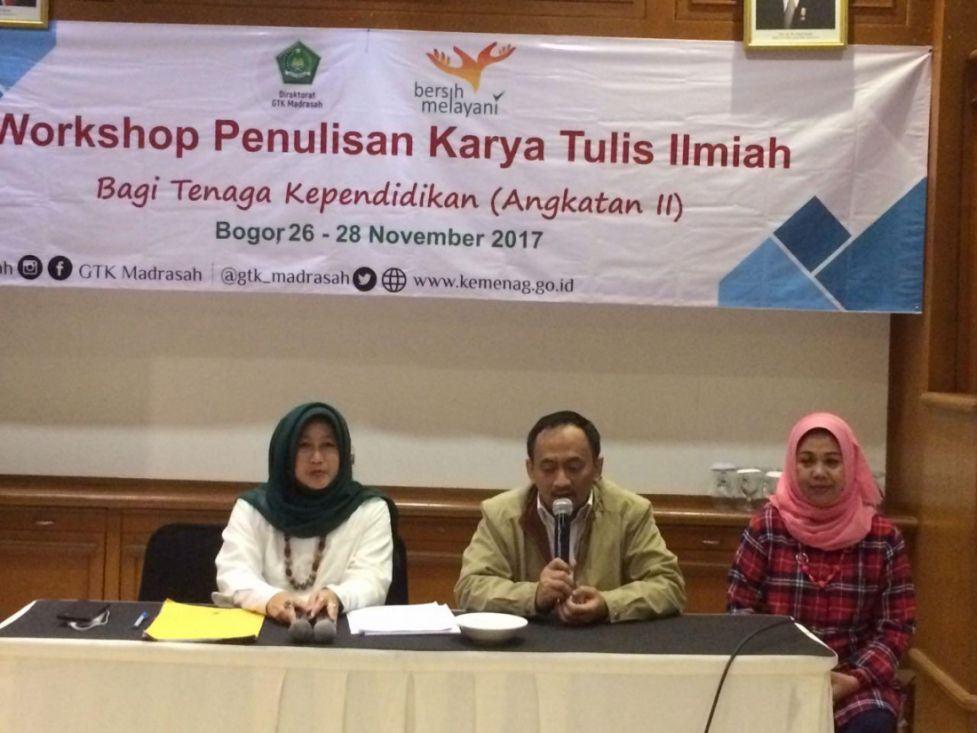 Kemenag Perkuat Kualitas Menulis Guru Madrasah