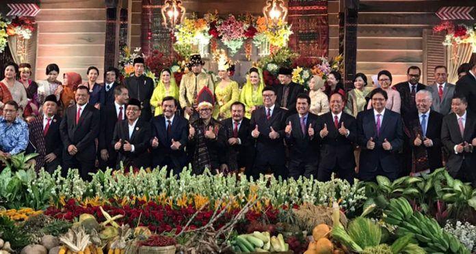 Resepsi Bobby-Kahiyang Medan