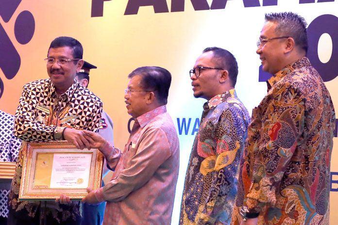 Penghargaan dari Wapres