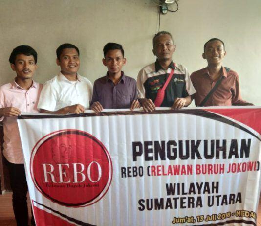 Relawan Buruh Jokowi Sumut