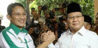 Prabowo dan Sandiaga