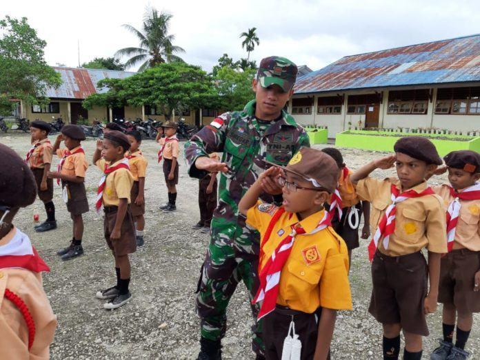 Prajurit TNI di Papua