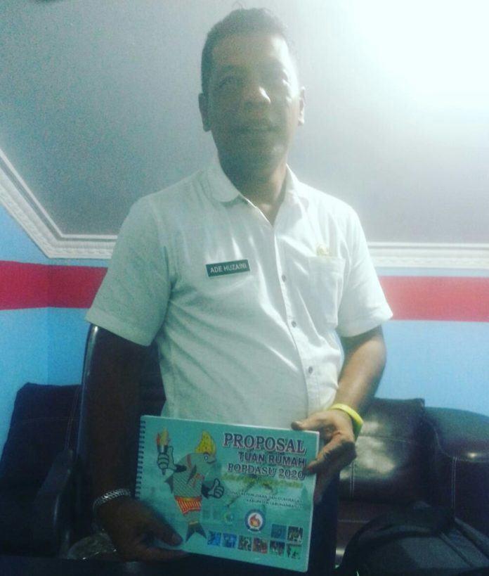 Pemkab Labuhanbatu Berkeinginan Jadi Tuan Rumah di Ajang POPDASU 2020