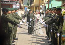 Momen Romantis, Prajurit TNI dan Polwan Nikah