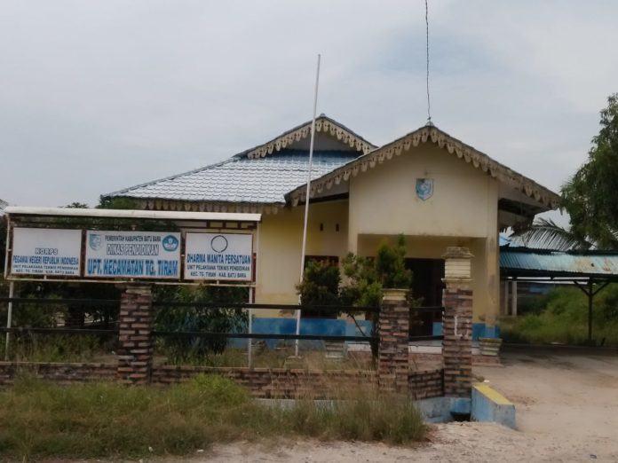 Eks Kantor UPTD Pendidikan Tanjung Tiram Diduga Jadi Sarang Mesum