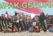 HUT Bhayangkara di Banjar, TNI-Polri Kolaborasi Rampak Gendang