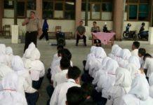 SMKN 1 Banjar, Binmas Berikan Penyuluhan Hukum kepada Siswa