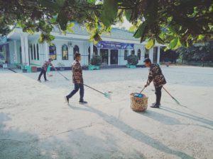 FKPPI Rayon 11/KP Kota Pinang Gagas Program Bersihkan Rumah Ibadah