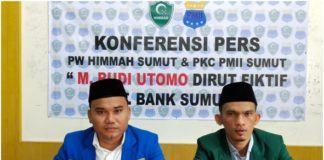 HIMMAH dan PMII Ingatkan Gubsu, PT Bank Sumut Diduga Ada Siluman