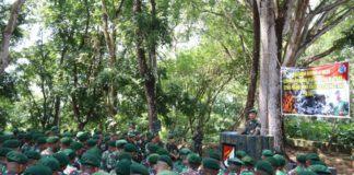 Latihan Antar Kecabangan, Danbrigif Raider 13/1 Kostrad Adakan Kunjungan Kerja