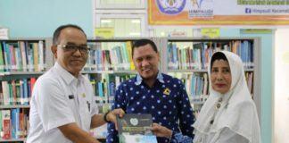 Kepala Sekolah PAUD, Tanda Tangani MoU Dengan Dinas Perpustakaan Dan Kearsipan