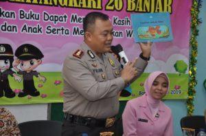 Kapolres Banjar, Hadiri Gernas Baku TK Kemala Bhayangkari Banjar