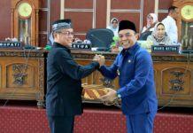 APBD TA 2018, Plt Bupati Labuhanbatu sampaikan Pertanggungjawaban