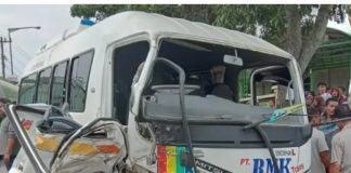 Kecelakaan di Rantauprapat Menelan Korban Jiwa