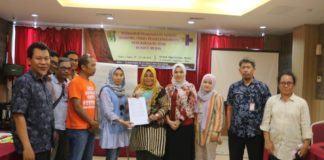 PKPA Serahkan Naskah Perda Perlindungan Anak Kepada Pemko Medan