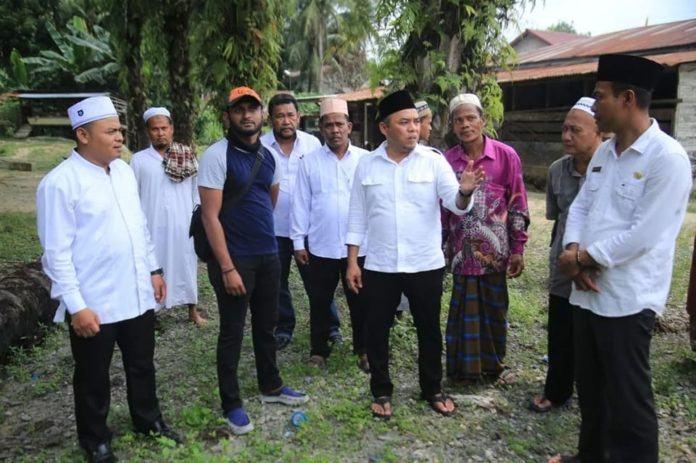 Plt Bupati Labuhanbatu yang Desain Pembangunan Masjid Raya Pangkatan