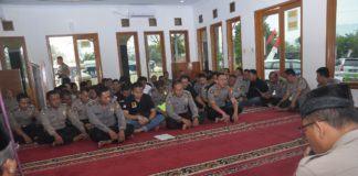 Kapolres Banjar Hadiri Tausiah Rutin di Masjid