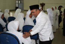 Plt Bupati Labuhanbatu Inginkan Jamaah Haji Jaga Kekompakan