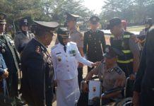 HUT Bhayangkara di Banjar, Walikota Jadi Inspektur Upacara
