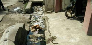 Parit Tanjung Tiram, Jadi Tempat Pembuangan Sampah