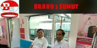 Pertemuan Jokowi-Prabowo, Bravo 5 Sumut Menyatakan Pilpres Telah Usai!!!