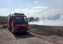 Tempat Pembuangan Limbah, Milik PT WBI Terbakar di Cilacap