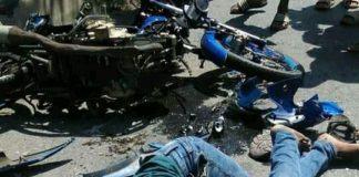 Seorang Pemuda Tewas, Kontra dengan Dump Truck di Jalin Pangkatan