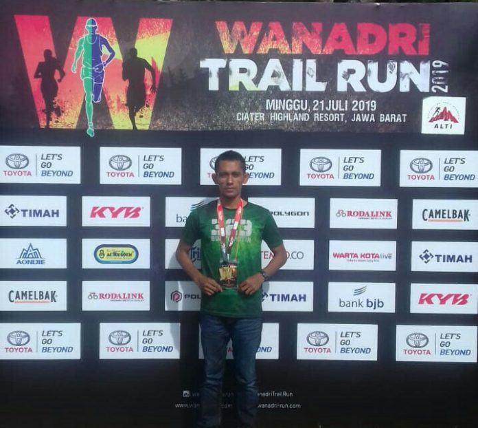 Lomba Lari Lintas Alam, Pratu Musen Finish Pertama