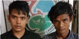 Dua PemudaLangsa, Diringkus Polisi Transaksi Sabu di Warnet