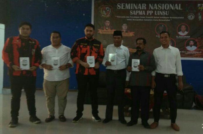 Sapma PP UINSU Gelar Seminar Islam Transitif dan Pancasila