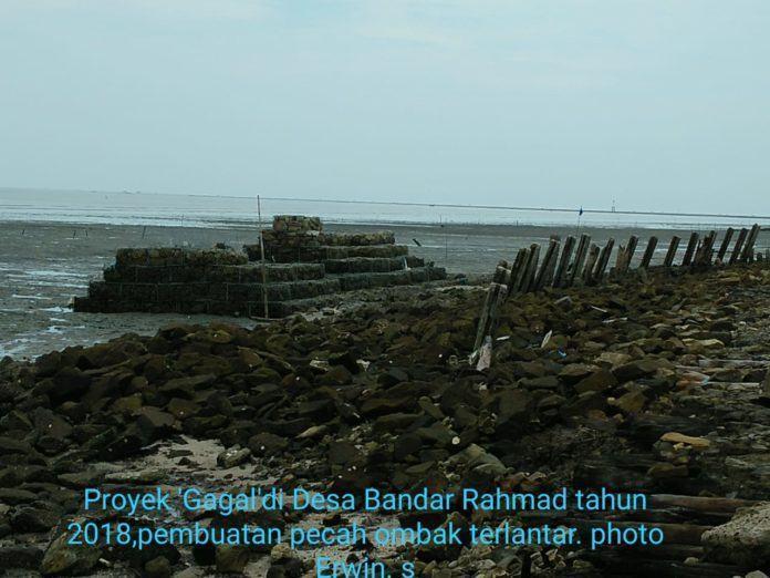 Pemecah Ombak Tanjung Tiram, Proyek