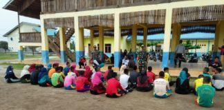 Menjelang HUT RI ke-74, Paskibra Tanjung Tiram Melakukan Persiapan
