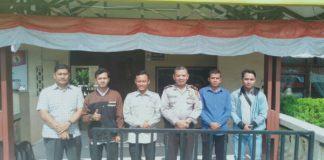 BKPRMI Wampu, Kunjungi Polsek Stabat Sambut Idul Adha