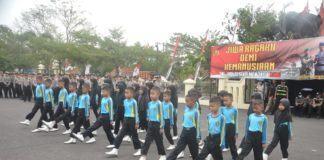 Lomba Polisi Cilik, Kapolres Banjar Saksikan FBB 30 Peserta