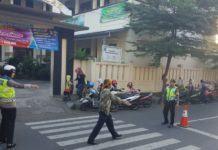 Demi Kenyamanan Pengguna Jalan, Polres Banjar Lakukan Kegiatan Gatur Pagi