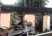 Kebakaran di Labuhanbatu Selatan, Uang 20JT Pun Ikut Hangus Terbakar