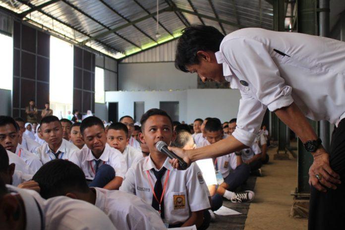 Hari Pertama Sekolah, Siswa Diberikan Pengetahuan Bahaya Narkoba