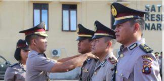 Polres Labuhan Batu, Sertijab 8 Personil Perwira