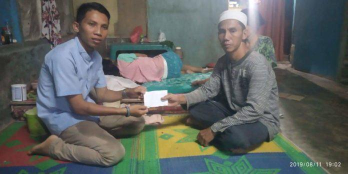 Gabungan Pemuda Sergai, Serahkan Donasi Peduli Kemanusiaan