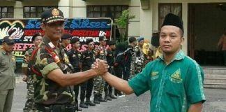 Ketua GP Ansor Pematangsiantar, Intruksikan Banser Pengamanan Sholat Idul Adha