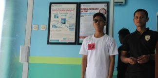 Calon Anggota Polri, Tes Kesehatan Pertama Binlat
