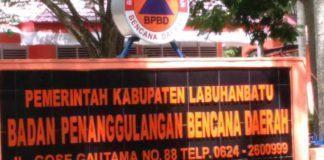 BPBD Labuhanbatu, Menguap Dugaan Korupsi Uang Makan dan Perjalanan Dinas