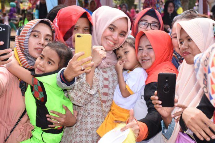 Hari Anak Nasional Banjar, Bhayangkari Buat Lomba Kreatifitas Anak PAUD
