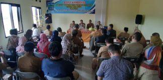 Dinsos Kota Banjar, Gelar Rapat Koordinasi Satgas Bantuan Sosial Pangan