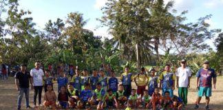 HUT RI ke-74, Desa Sukahurip Adakan Tournament Sepak Bola Usia SD/MI
