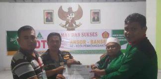 Burhanuddin Simanjorang, Lulusan Terbaik DTD Pematang Siantar