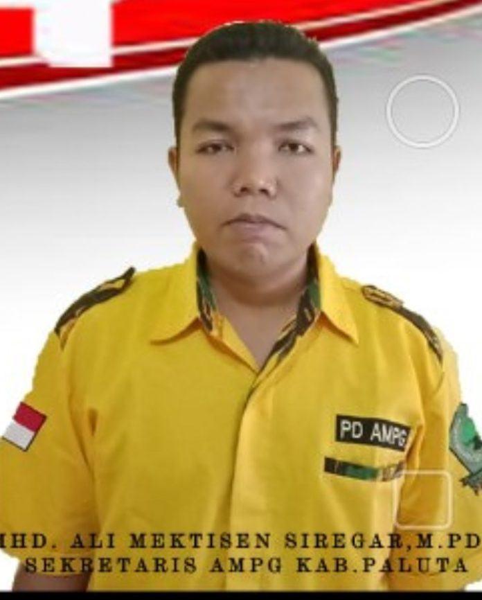 Pilkada Paluta, Sekretaris AMPG: Partai Golkar Selayaknya Mengusung Kader Murni